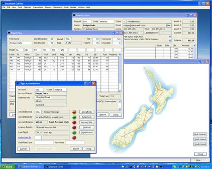 Datahawk Software Copilot System Screenshot